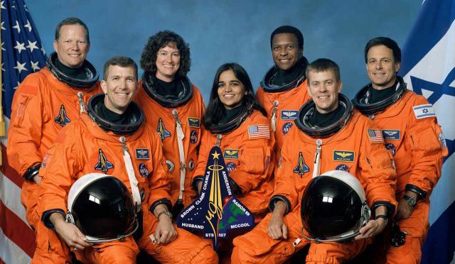 Die Crew der ›Columbia‹-Mission STS-107