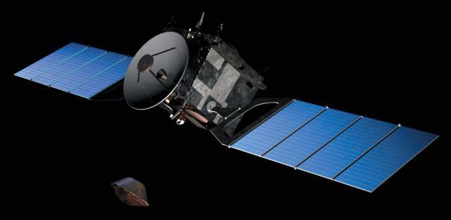 Beagle 2 verlässt den Mars-Express-Orbiter