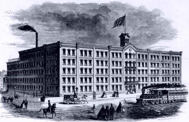 Fabrik der Gebrüder Steinway