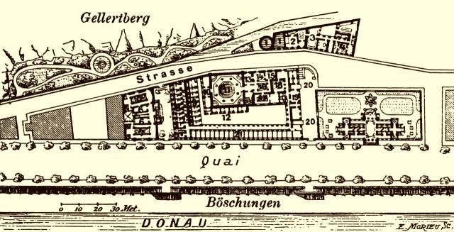 Plan des Rudasbad