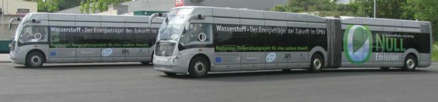 Wasserstoff-Busse