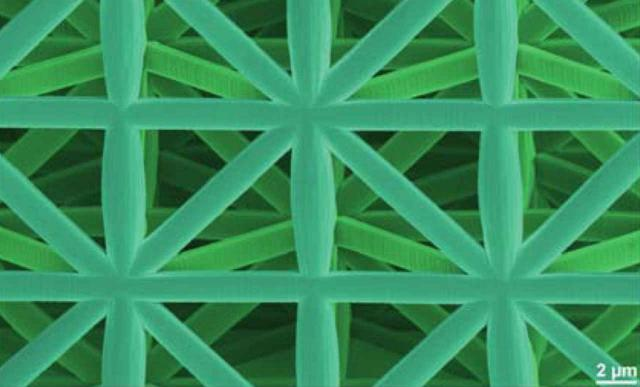 Stabilste Leichtbaumaterialien dank Mikroarchitektur