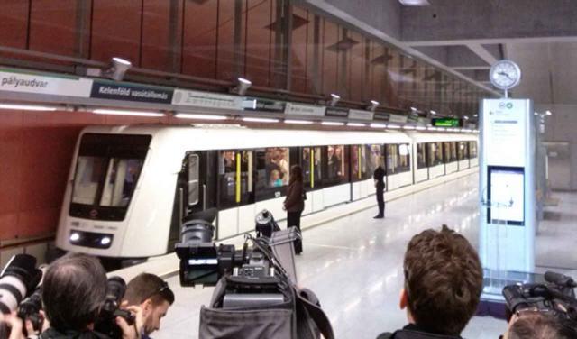 Automatische U-Bahn-Linie in Budapest