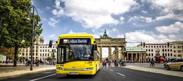 Berlins E-Buslinie