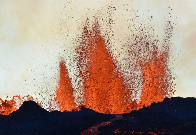 Eruption des Bardarbunga