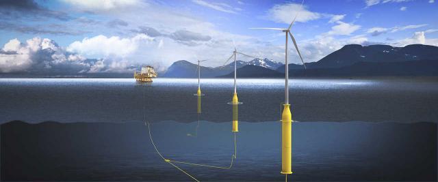 schwimmende Windenergieanlagen