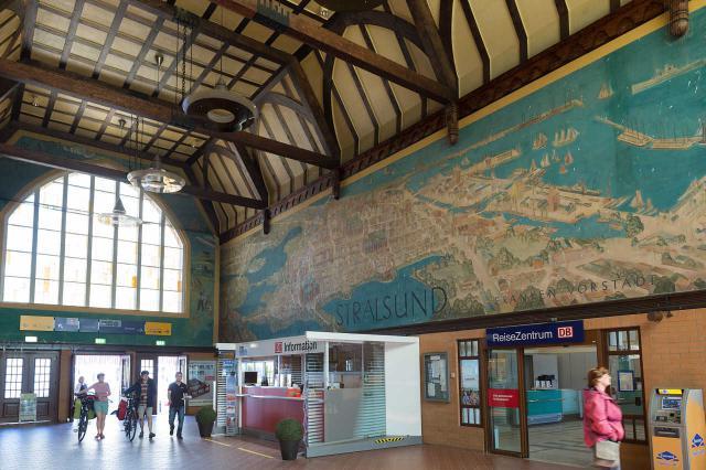 Bahnhof Stralsund