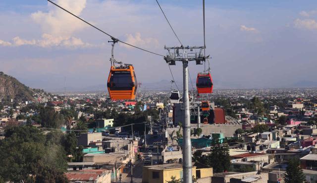 Seilbahn in Mexico City
