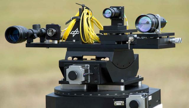 Laser-Sendeterminal