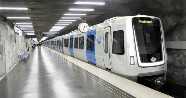 U-Bahn-Züge für Stockholm