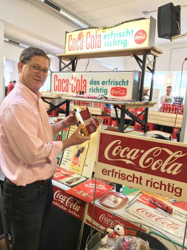 Coca-Cola Archivar Ted Ryan