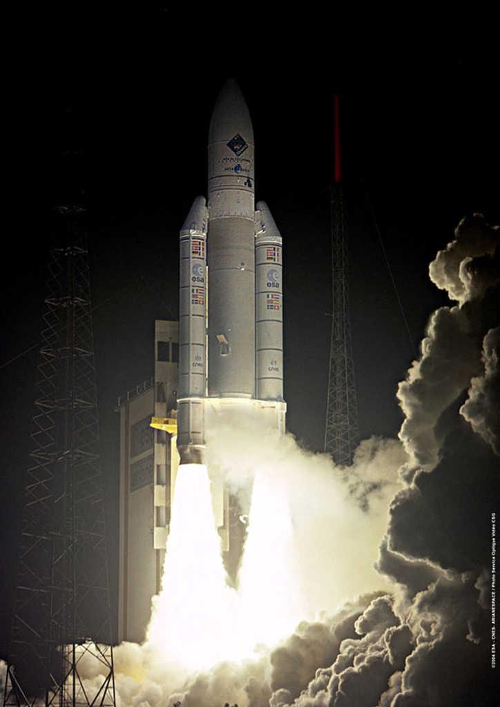 Start der Rosetta-Mission
