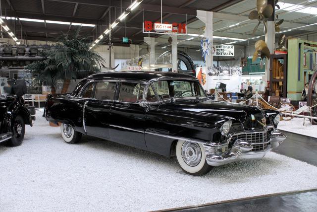 Gepanzerte Cadillac Präsidentenlimousine von 1950