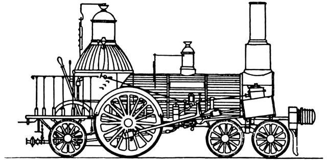 Borsig-Lokomotive 1840