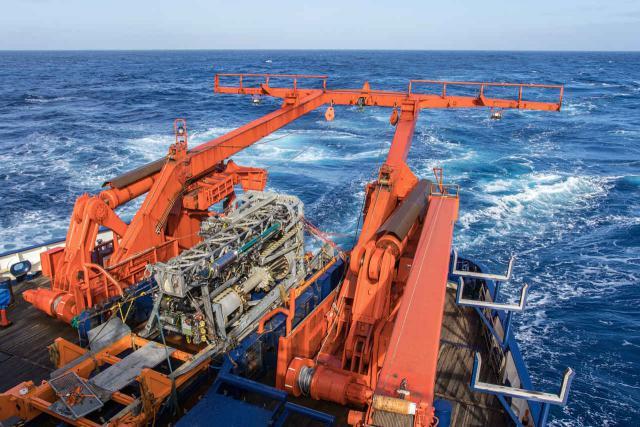 Meeresboden-Bohrgerät