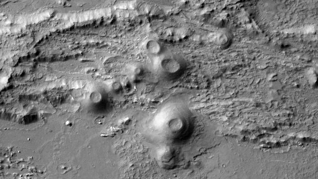 Coprates Chasma auf dem Mars