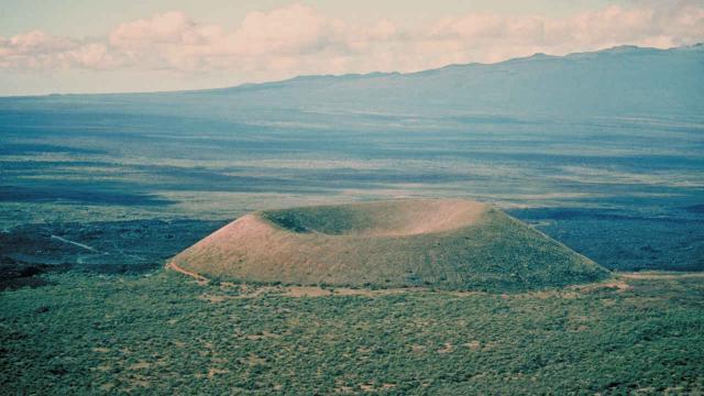 Vulkankegel Pu'u ka Pele