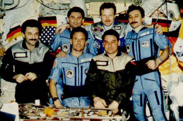 Besatzung der Mir Raumstation