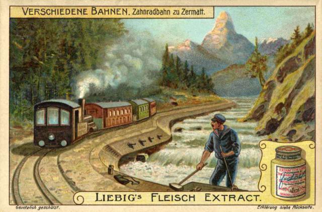 Zahnradbahn zu Zermatt