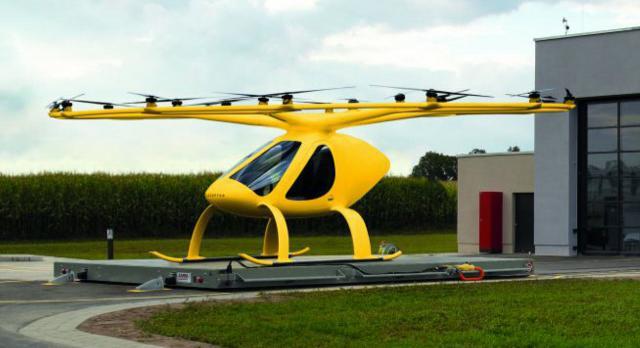 Volocopter im Rettungsdienst