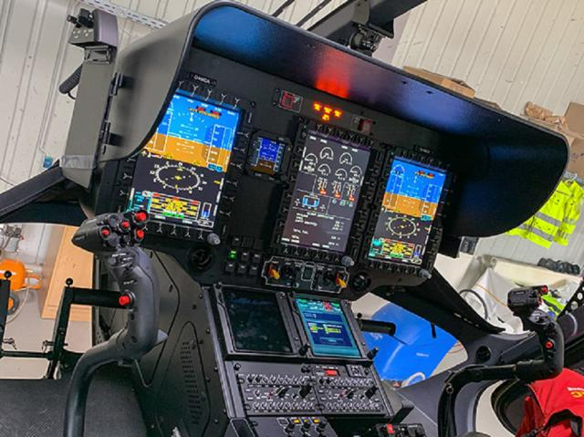 Blick ins Cockpit mit Technik