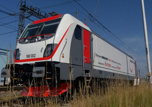 Lokomotivenplattform TRAXX 3