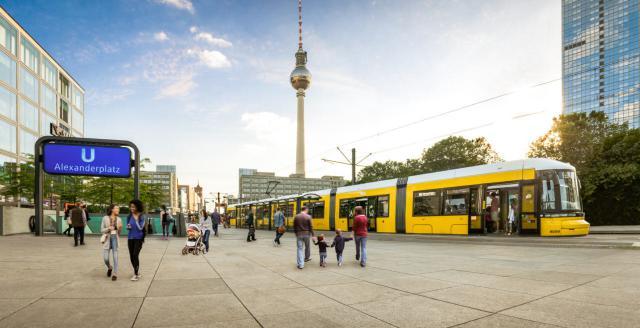 Flexity-Berlin-Straßenbahn