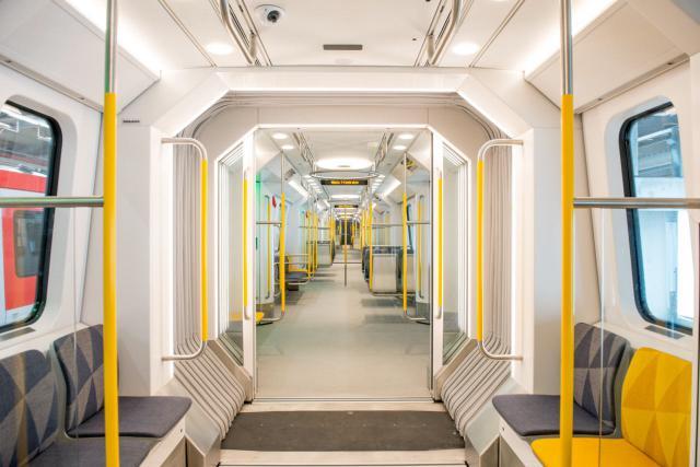 Movia C30-U-Bahn-Zug