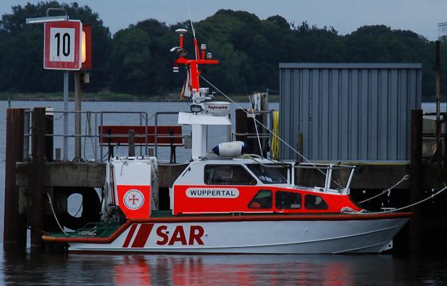 Seenotrettungsboot Wuppertal