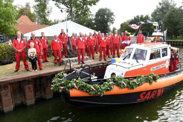 Seenotrettungsboot Eva Ahrens-Thies
