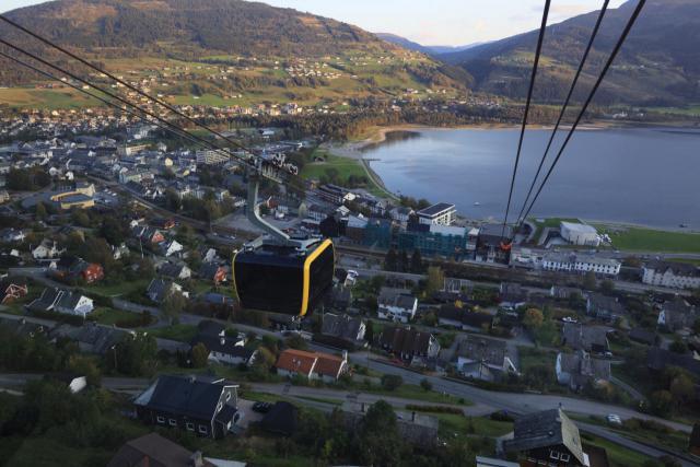 Die Größte Seilbahn Nordeuropas