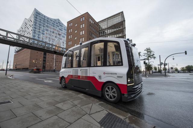 Kleinbus für Heat in Hamburg