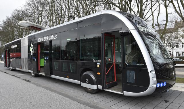 Der elektrisch angetriebene Irizar ie-tram