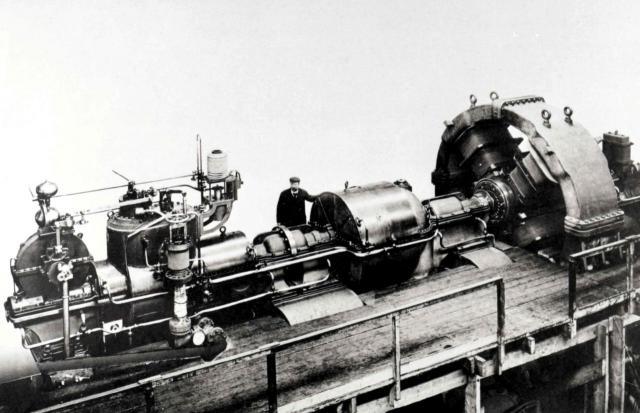 Parsons-Turbine