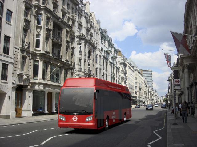 Brennstoffzellenbus für London