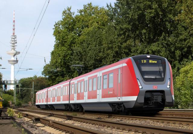 Neue S-Bahn Züge für Hamburg