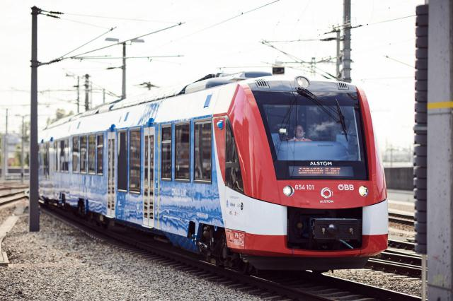 ÖBB-Wasserstoffzug