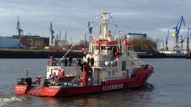 Feuerlöschschiff Branddirektor Westphal