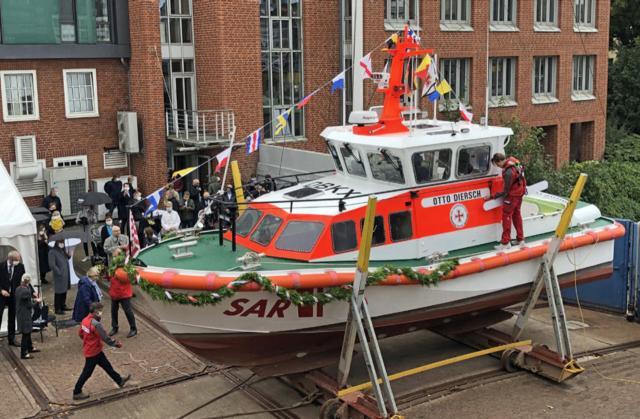 Taufe des Seenotrettungsboot Otto Diersch