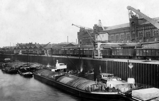 Kombinierter Verkehr vor etwa 90 Jahren