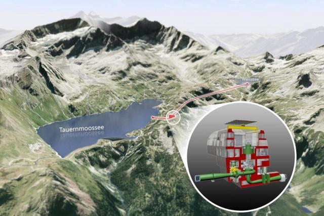 Pumpspeicherkraftwerk Tauernmoos