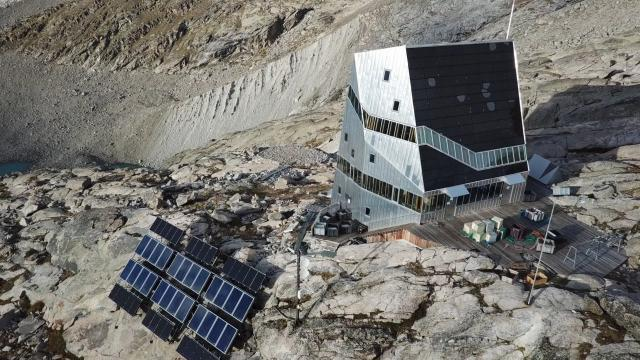 Die Monte-Rosa-Hütte