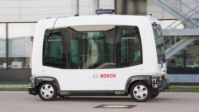 Automatisiertes Fahren im Niedergeschwindigkeitsbereich
