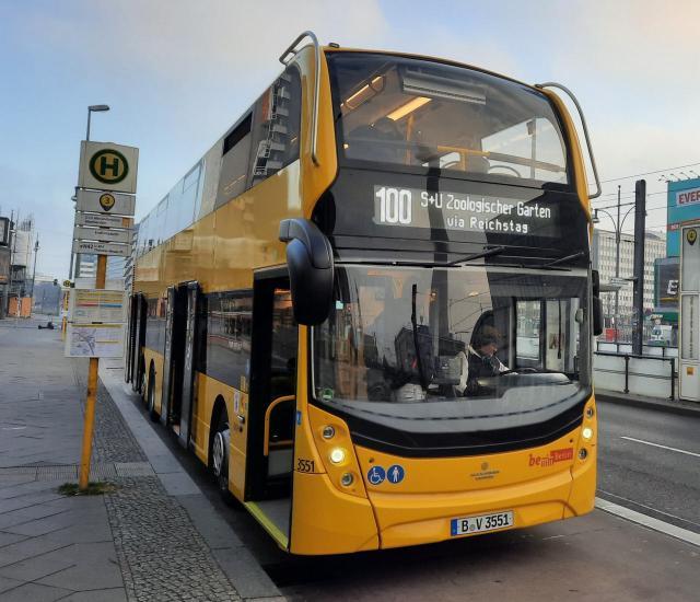 Doppeldeckerbus Enviro500