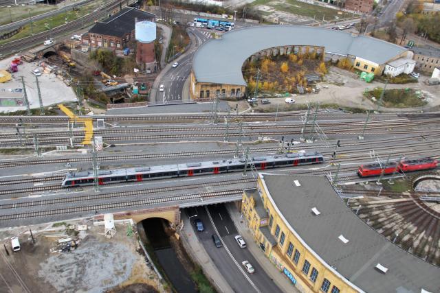 Eisenbahnüberführung Rackwitzer Straße