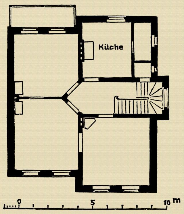 Grundriss vom Erdgeschoss - Landhaus Ritter