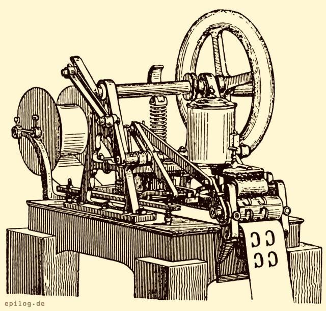 Fahrkartendruckmaschine