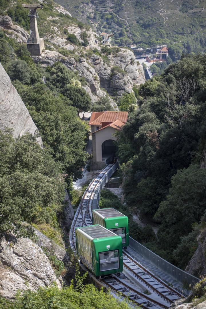 Pilgerbahn zur Kapelle Santa Cova