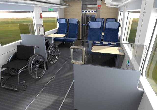 ECx - Platz für Rollstühle