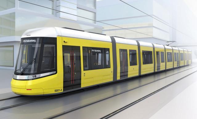 Die neue Straßenbahn für Berlin